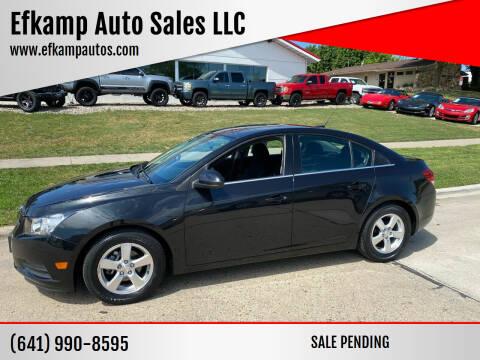 2013 Chevrolet Cruze for sale at Efkamp Auto Sales LLC in Des Moines IA