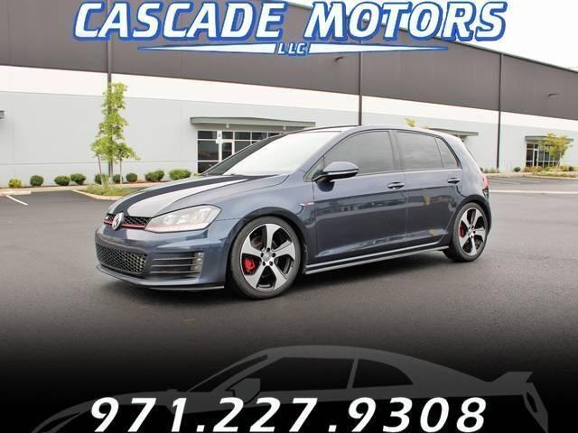 2016 Volkswagen Golf GTI for sale at Cascade Motors in Portland OR