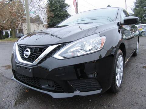 2018 Nissan Sentra for sale at PRESTIGE IMPORT AUTO SALES in Morrisville PA