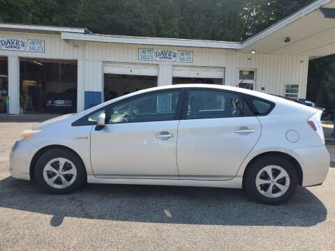 2013 Toyota Prius for sale at Dave's Garage & Auto Sales in East Peoria IL