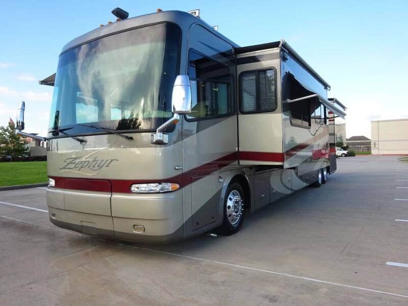 2006 Tiffin Zephyr 45', 500hp, for sale at Top Choice RV in Spring TX