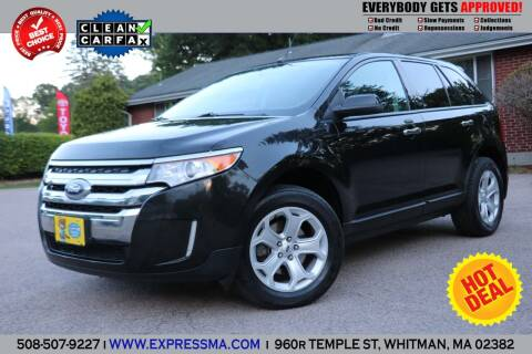 2011 Ford Edge for sale at Auto Sales Express in Whitman MA
