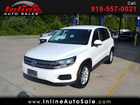 2012 Volkswagen Tiguan for sale at Inline Auto Sales in Fuquay Varina NC