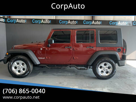 2010 Jeep Wrangler Unlimited for sale at CorpAuto in Cleveland GA