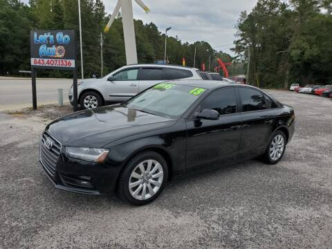 2013 Audi A4 for sale at Let's Go Auto in Florence SC