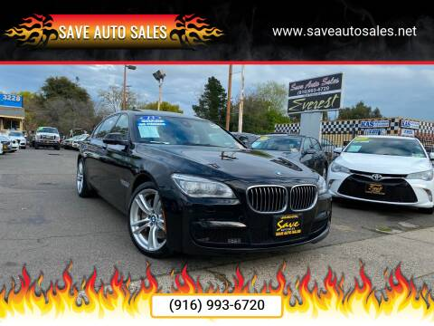 2013 BMW 7 Series for sale at Save Auto Sales in Sacramento CA