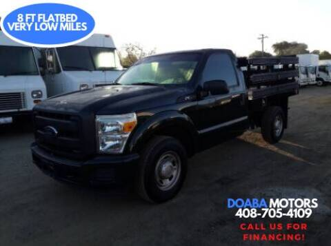 2012 Ford F-250 Super Duty for sale at DOABA Motors - Flatbeds in San Jose CA