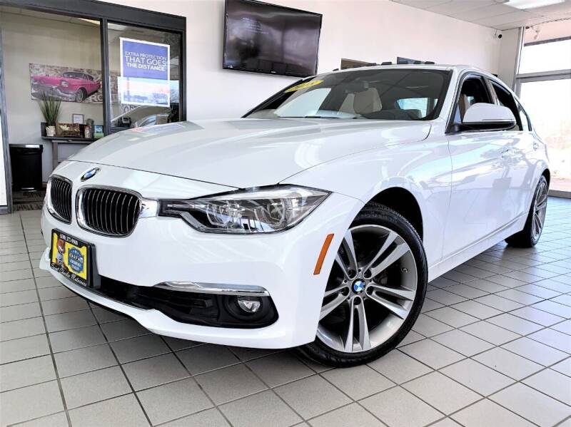 2018 BMW 3 Series for sale at SAINT CHARLES MOTORCARS in Saint Charles IL