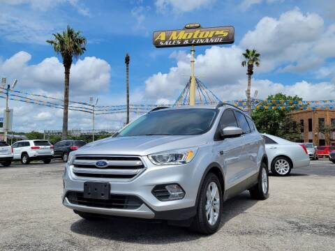 2018 Ford Escape for sale at A MOTORS SALES AND FINANCE in San Antonio TX