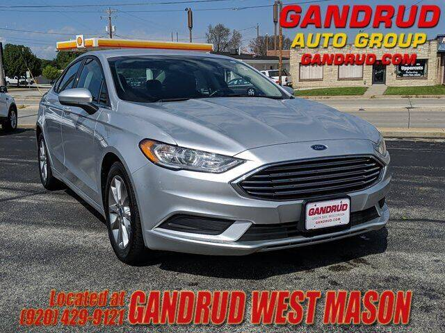 2017 Ford Fusion for sale at GANDRUD CHEVROLET in Green Bay WI