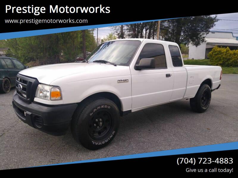 2011 Ford Ranger for sale at Prestige Motorworks in Concord NC