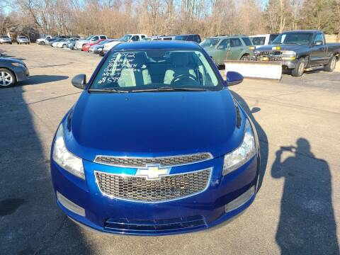 2012 Chevrolet Cruze for sale at All State Auto Sales, INC in Kentwood MI