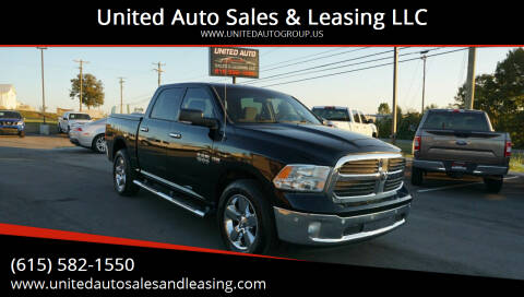 2014 RAM Ram Pickup 1500 for sale at United Auto Sales & Leasing LLC in La Vergne TN