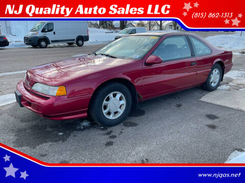 1993 Ford Thunderbird for sale at NJ Quality Auto Sales LLC in Richmond IL