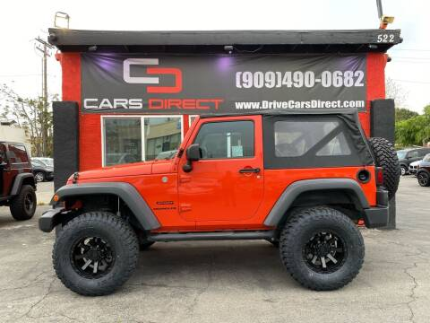 2015 Jeep Wrangler for sale at Cars Direct in Ontario CA