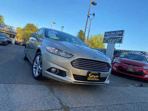 2015 Ford Fusion Hybrid for sale at Save Auto Sales in Sacramento CA