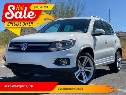2016 Volkswagen Tiguan for sale at Baba's Motorsports, LLC in Phoenix AZ