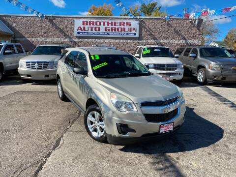 2013 Chevrolet Equinox for sale at Brothers Auto Group in Youngstown OH