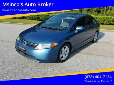 2006 Honda Civic for sale at Msinco's Auto Broker in Snellville GA