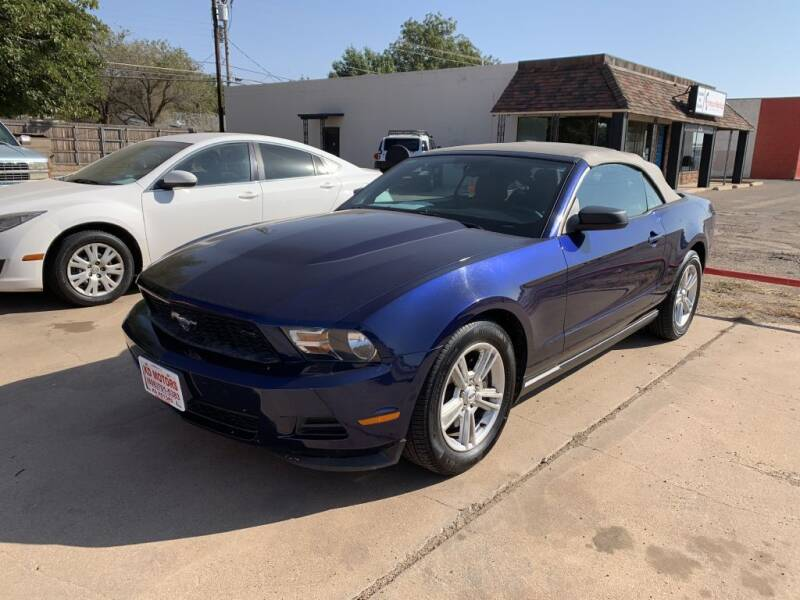 2012 Ford Mustang for sale at KD Motors in Lubbock TX