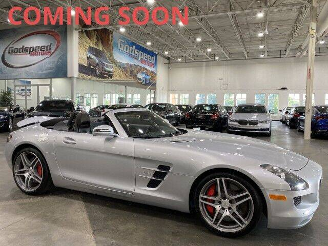 2012 Mercedes-Benz SLS AMG for sale at Godspeed Motors in Charlotte NC