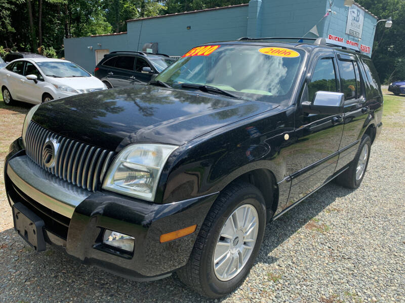 2006 Mercury Mountaineer for sale in Siler City, NC