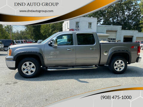 2009 GMC Sierra 1500 for sale at DND AUTO GROUP in Belvidere NJ