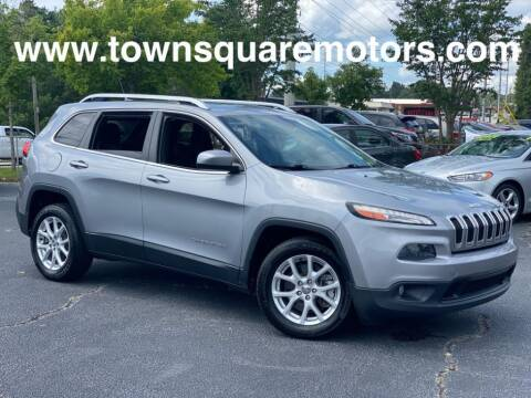 2014 Jeep Cherokee for sale at Town Square Motors in Lawrenceville GA