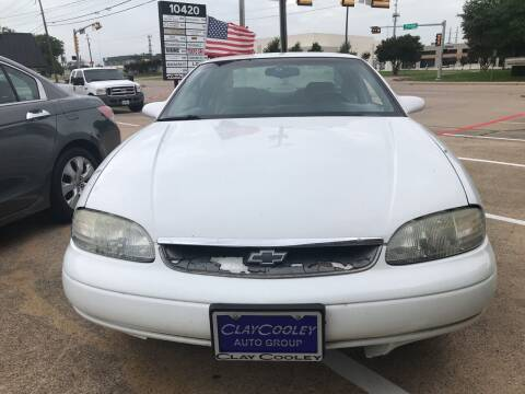 1995 Chevrolet Monte Carlo for sale at Affordable Auto Sales in Dallas TX