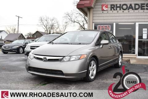2006 Honda Civic for sale at Rhoades Automotive in Columbia City IN