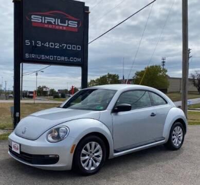 2013 Volkswagen Beetle for sale at SIRIUS MOTORS INC in Monroe OH