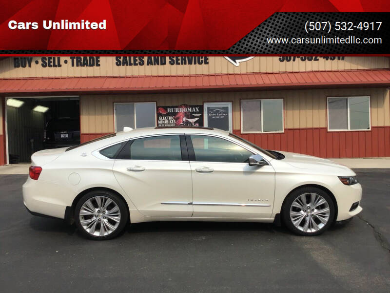 2014 Chevrolet Impala for sale at Cars Unlimited in Marshall MN