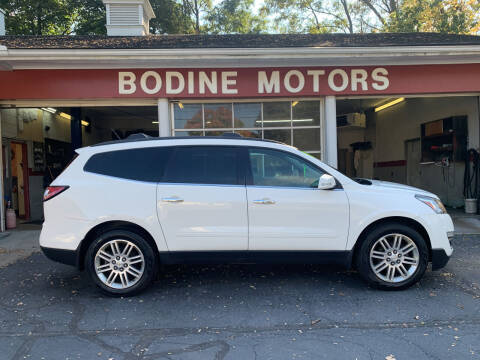 2015 Chevrolet Traverse for sale at BODINE MOTORS in Waverly NY