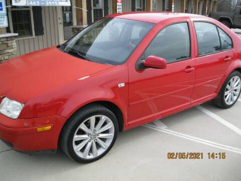 2002 Volkswagen Jetta for sale at WALLBURG AUTO SALES LLC in Winston Salem NC