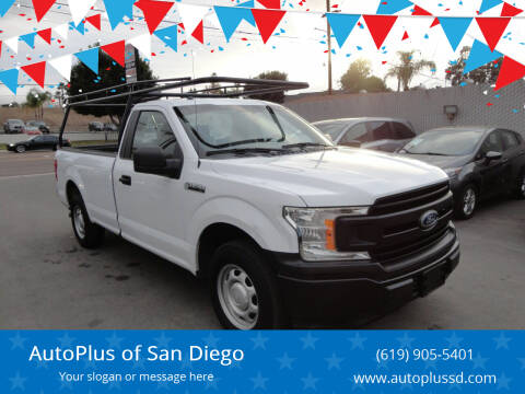 2018 Ford F-150 for sale at AutoPlus of San Diego in Spring Valley CA