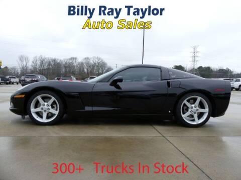 2007 Chevrolet Corvette for sale at Billy Ray Taylor Auto Sales in Cullman AL