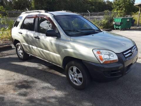 2007 Kia Sportage for sale at Easy Credit Auto Sales in Cocoa FL