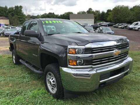 2015 Chevrolet Silverado 2500HD for sale at Interstate Fleet Inc. Auto Sales in Colmar PA