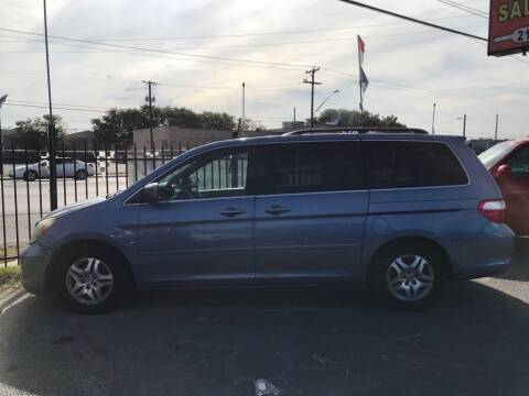 2006 Honda Odyssey for sale at Race Auto Sales in San Antonio TX