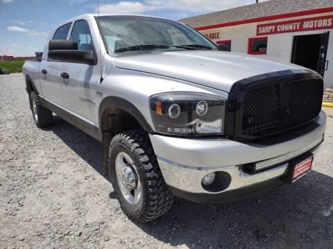 2006 Dodge Ram Pickup 1500 for sale at Sarpy County Motors in Springfield NE
