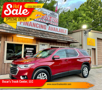 2019 Chevrolet Traverse for sale at Oscar's Truck Center, LLC in Houston TX