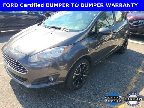 2018 Ford Fiesta for sale at PHIL SMITH AUTOMOTIVE GROUP - Tallahassee Ford Lincoln in Tallahassee FL