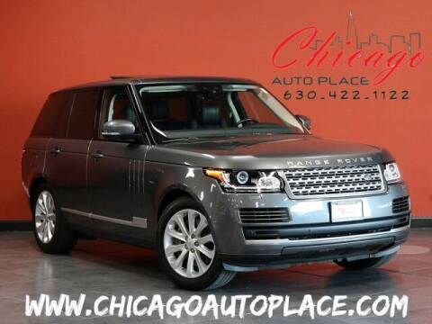 2017 Land Rover Range Rover for sale at Chicago Auto Place in Bensenville IL