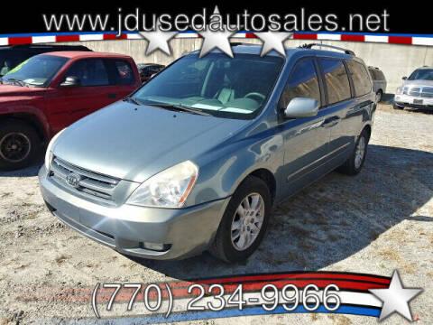 2009 Kia Sedona for sale at J D USED AUTO SALES INC in Doraville GA