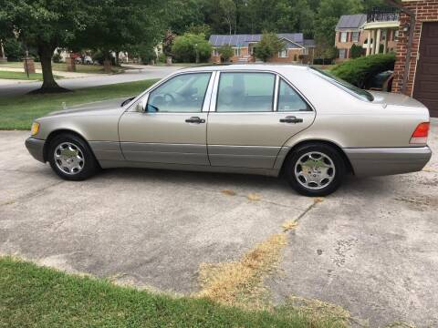 1996 Mercedes-Benz S-Class for sale at The Nella Collection in Fort Washington MD