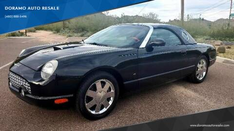 2003 Ford Thunderbird for sale at DORAMO AUTO RESALE in Glendale AZ