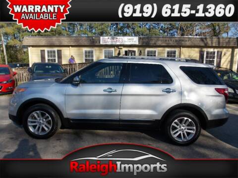 2014 Ford Explorer for sale at Raleigh Imports in Raleigh NC