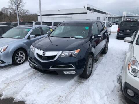 2013 Acura MDX for sale at BORGMAN OF HOLLAND LLC in Holland MI