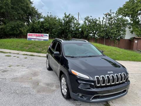2014 Jeep Cherokee for sale at Detroit Cars and Trucks in Orlando FL