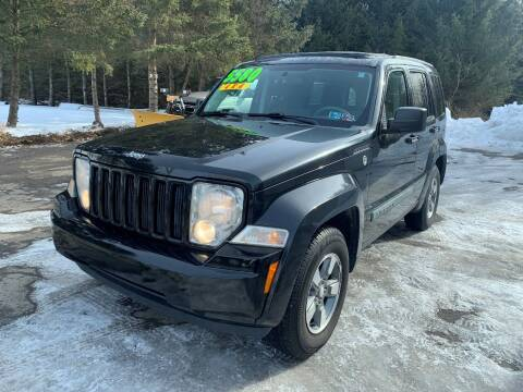 2008 Jeep Liberty for sale at SMS Motorsports LLC in Cortland NY